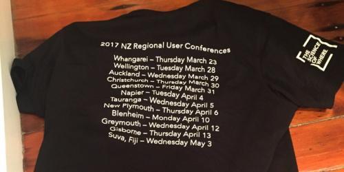 RUC 2017 Tour Shirt