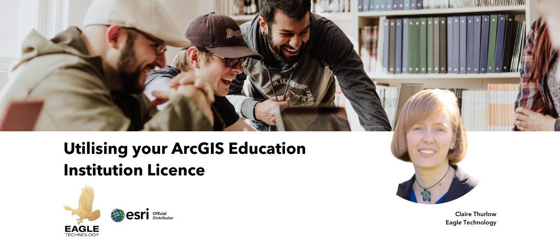 Utilising your ArcGIS Education Institution Licence, Image by Priscilla Du Preez from Unsplash.com